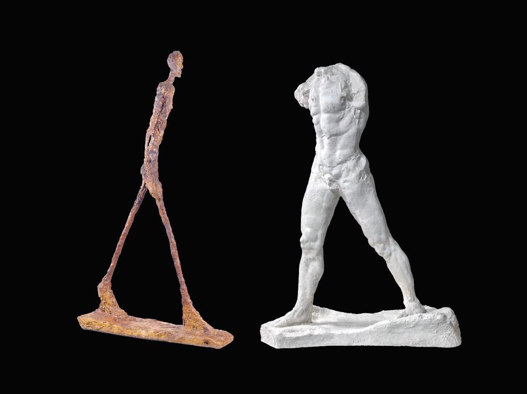 Giacometti - Rodin
