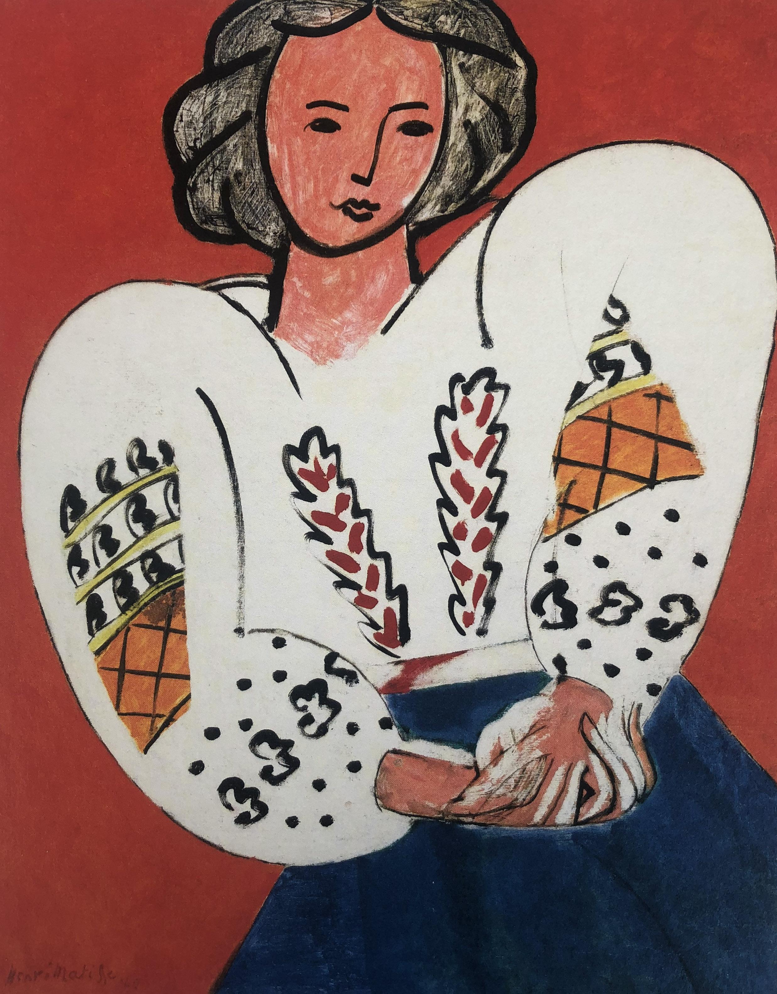 Okno i powieść – oto Henri Matisse