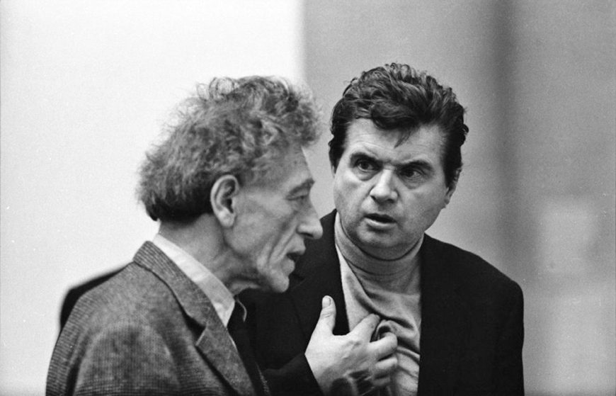 Giacometti, Bacon i cała reszta ...